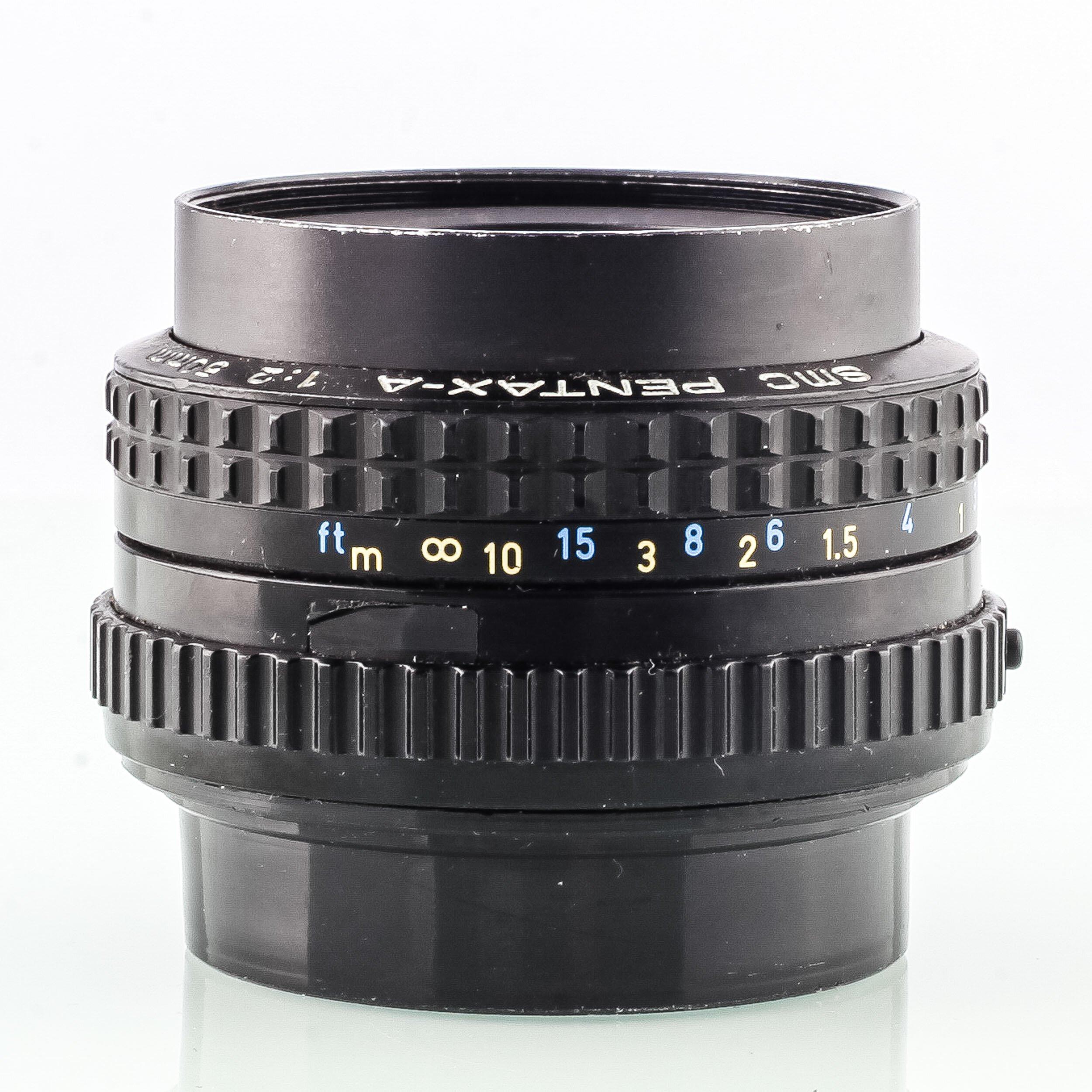 Pentax K 50mm 2 SMC Pentax-A