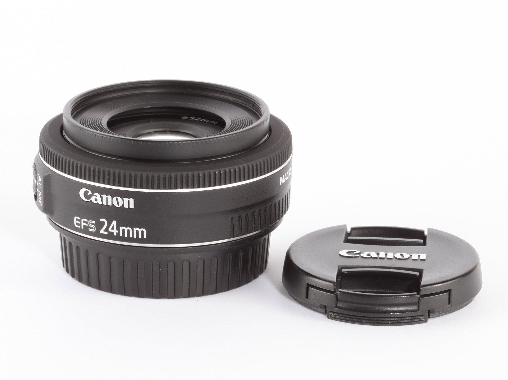 Canon EFS 24mm 2,8 STM