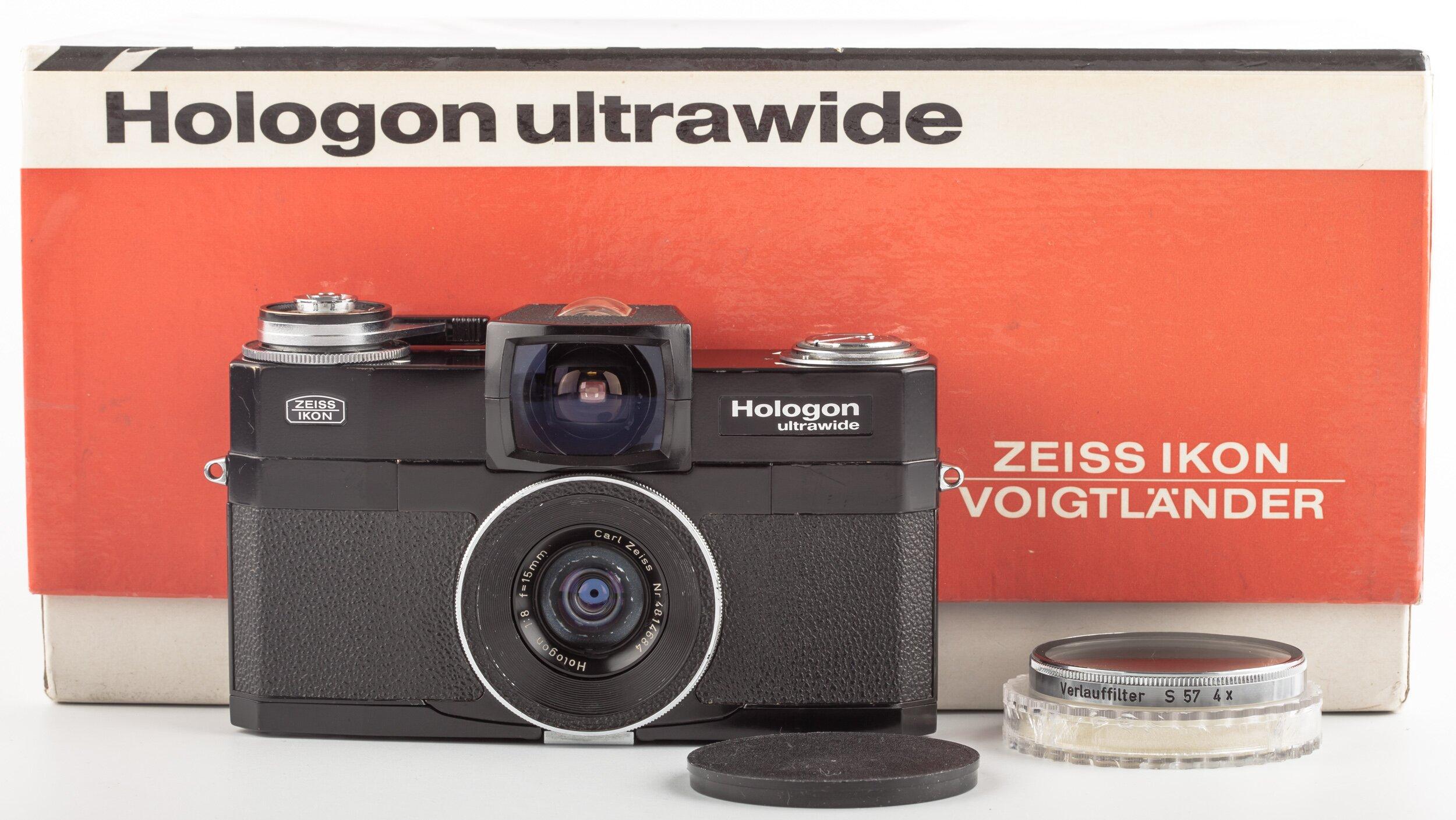 Zeiss Ikon Contarex Hologon Ultrawide mit Zeiss hollogon 8/15mm