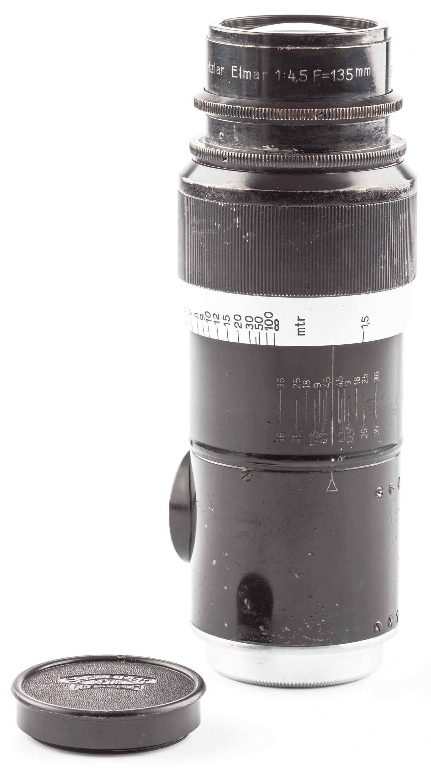 Leica 135mm 4,5 Elmar M39