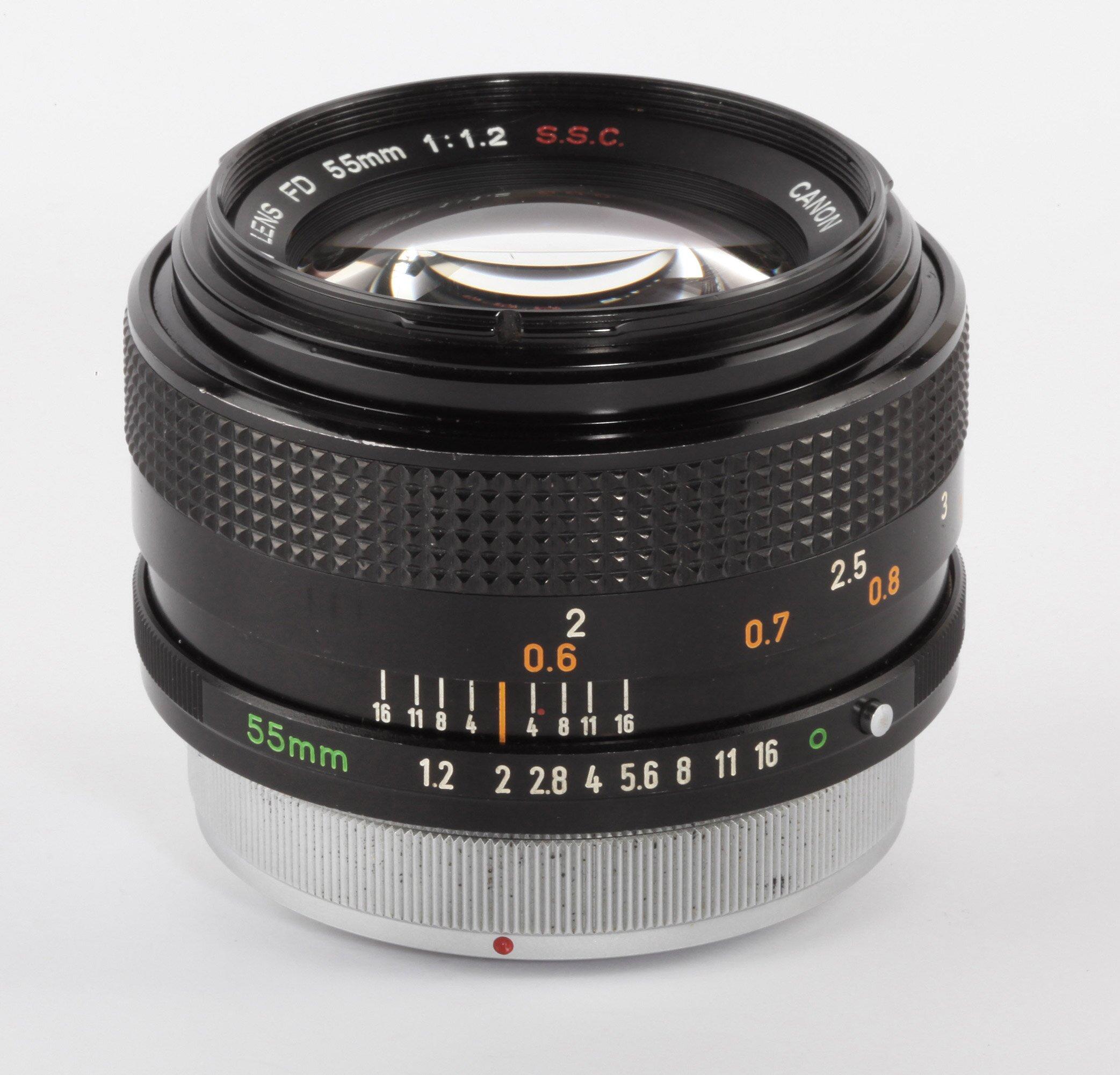 Canon FD 55mm 1,2
