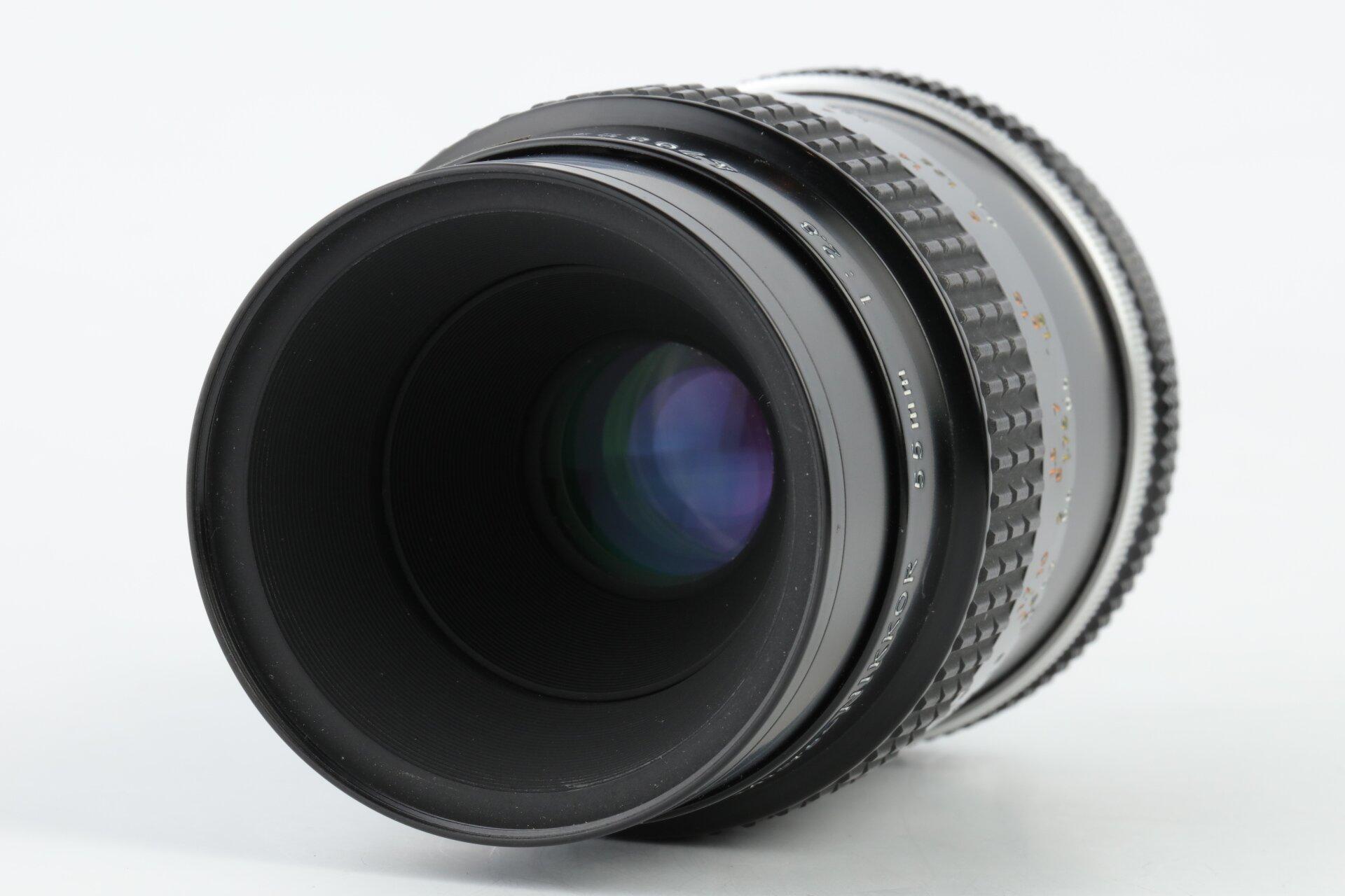 Nikon 55mm 2,8 Micro-Nikkor AIS