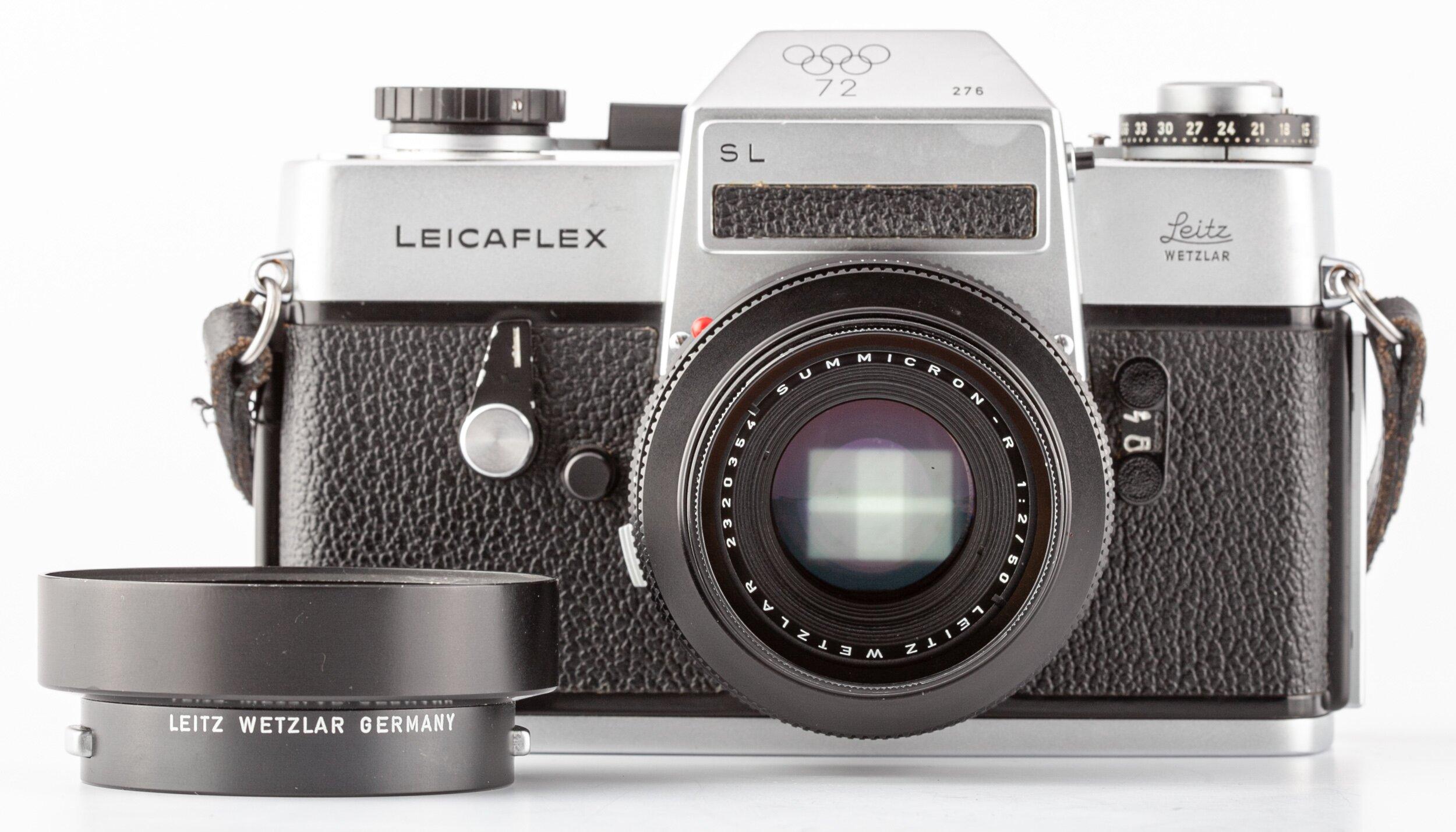 Leicaflex SL Olympiade 1972 mit Summicron-R 50mm F2