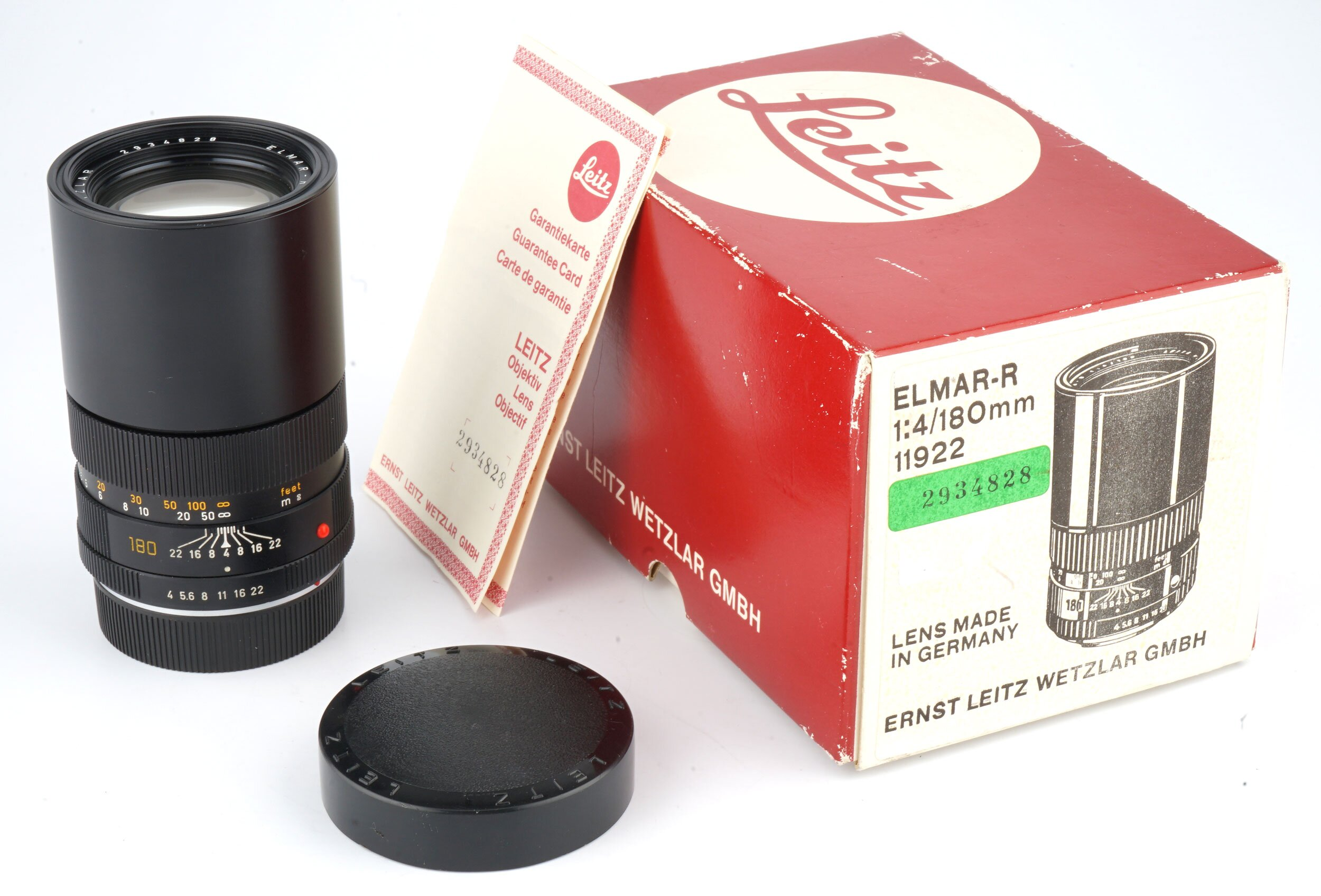 Leica Elmarit-R F4 180mm 3CAM 11922