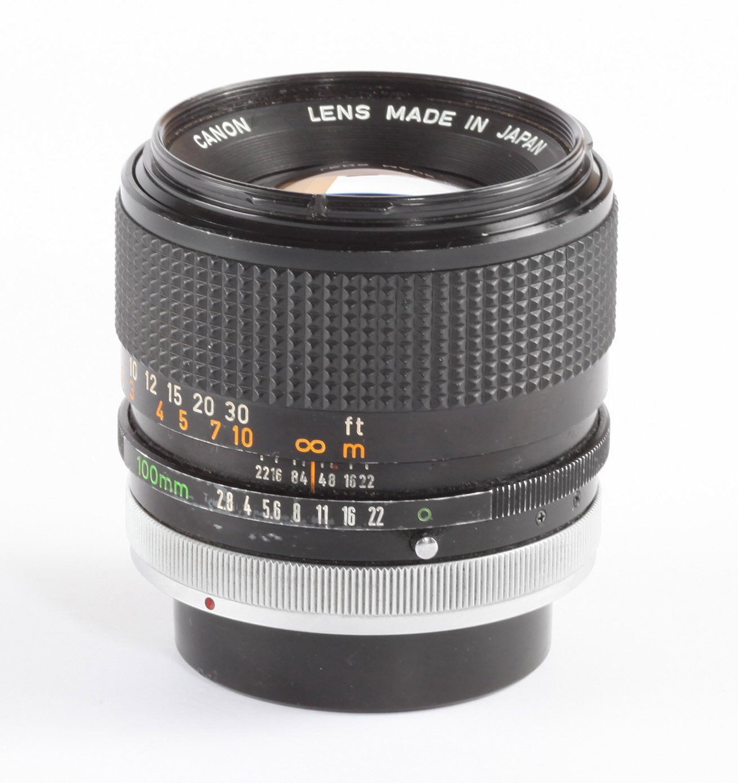Canon FD 100mm 2,8 S.S.C
